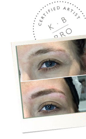 KB Pro Microblading before after